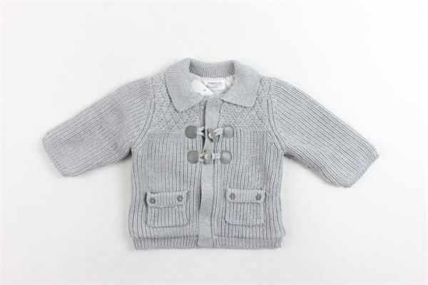 cappotto in maglia tinta unita imbottitura in pile MAYORAL | Giubbini | 2309GRIGIO