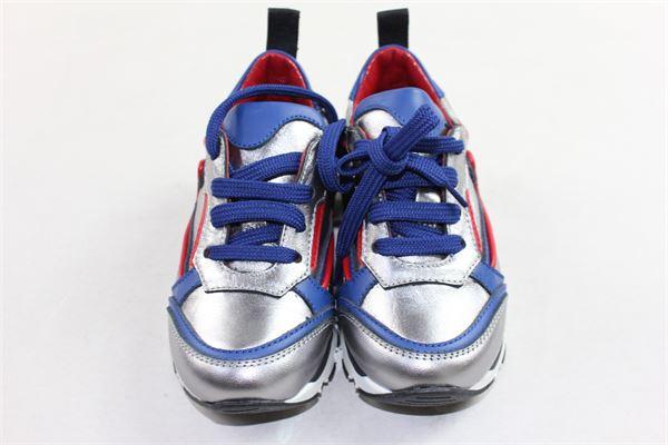 sneakers sportiva bicolore MIMISOL | Scarpe | 61362ARGENTO