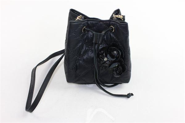 borsa modello secchiello tinta unita con tracolla MIMISOL | Borse | MABO001TS0025NERO