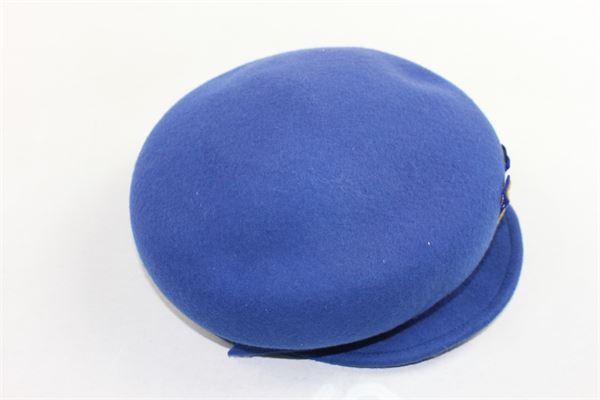 cappello modello coppola tinta unita MIMISOL | Cappelli | MACP004XX0000BLU