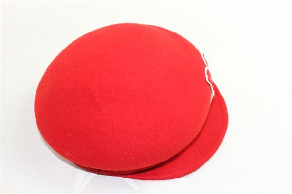 cappello modello coppola tinta unita MIMISOL | Cappelli | MACP004XX0000ROSSO