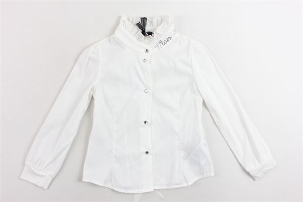 camicia manica lunga tinta unita MONNALISA | Camicie | 170301A1BIANCO