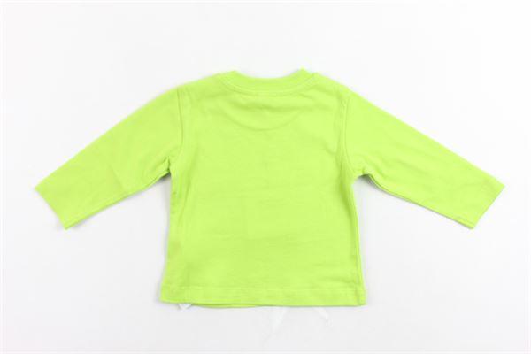 shirt manica lunga cotone caldo tinta unita con stampa MOSCHINO | Shirts | M8M01LVERDE