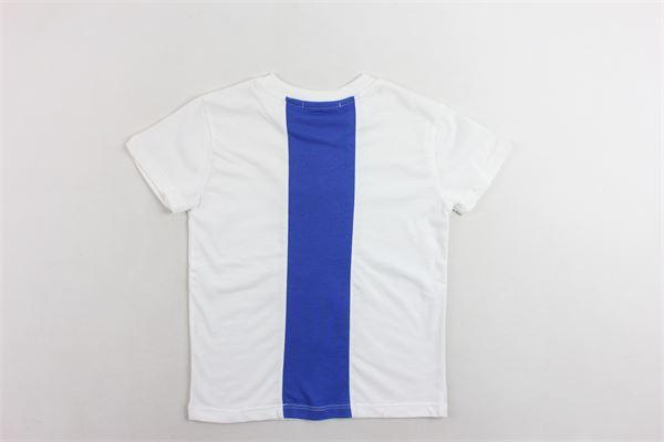 t-shirt mezza manica tinta unita con stampa MSGM | T-shirts | 016514BIANCO