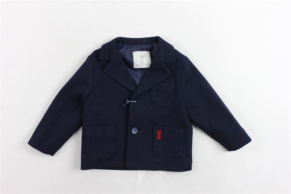 giacca tinta unita con logo MY CLOSET | Giacche | JIMY9301BLBLU