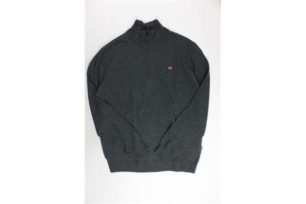 maglione con zip tinta unita NAPAPIJRI | Maglie | NOYG0Z197GRIGIO