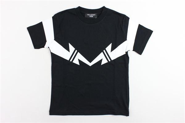 NEIL BARRETT | T-shirts | 018629NERO