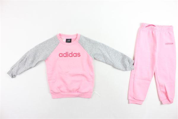 completo tuta felpato,felpa girocollo più pantalone Adidas | Completi | EI7964ROSA