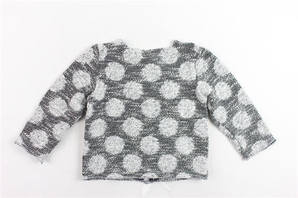 cardigan in cotone stampa fantasia NINALUNA | Maglie | DRS18BFE02NERO
