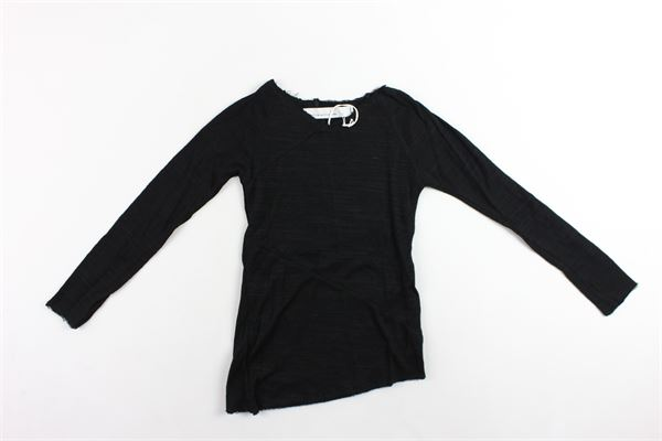 shirt manica lunga tinta unita NOSTRA SANTISSIMA | Shirts | 97BTS24NERO