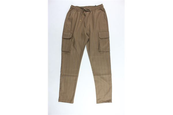 NUMBERS | Trousers | 20044MARRONE