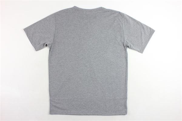 t-shirt mezza manica tinta unita con taschino e stampa OFFICINA36 | T-shirts | CUAM28GRIGIO