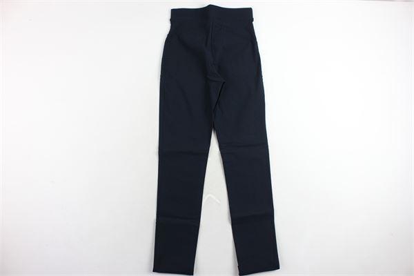 pantalone tipo leggins tinta unita OROBLU' | Pantaloni | VOBT64932BLU