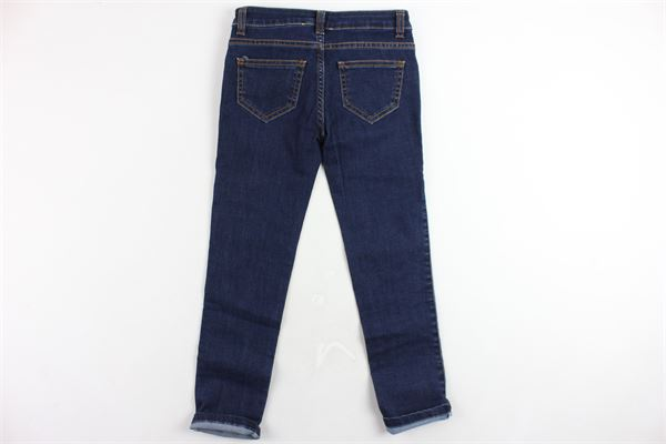 jeans 5 tasche tinta unita con paillettes PANILLA | Jeans | N207031BLU