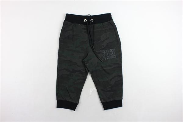 pantalone tuta 3/4 cotone caldo fantasia mimetica PARENTAL ADVISORY | Pantaloni | AD943DVERDE