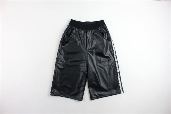 pantalone a palazzo corto in ecopelle PARENTAL ADVISORY | Pantaloni | AD956DNERO