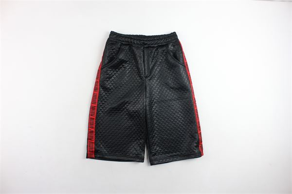 pantalone corto a palazzo tinta unita PARENTAL ADVISORY | Pantaloni | AD963DNERO
