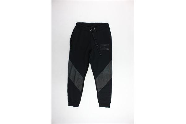pantalone tuta garzato tinta unita PARENTAL ADVISORY | Pantaloni | PANTALONIPARENTALADVISORY1NERO