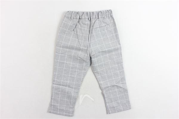 pantalone tasca america fantasia a quadri PATACHOU | Pantaloni | PAP/CAL2933375GRIGIO
