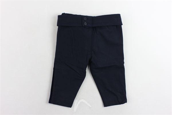 pantaone tinta unita profili in velluto PATACHOU | Pantaloni | PAP/CAL2933377BLU