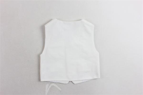 gilet tinta unita in cotone caldo PATACHOU | Gilet | PAP/COL2933371BIANCO