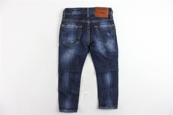 jeans 5 tasche tinta unita girovita regolabile PATRIOT | Jeans | PB926BLU