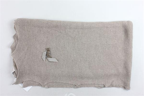 coperta in lana tinta unita PAZ RODRIGUEZ | Coperte | 029-01704MARRONE