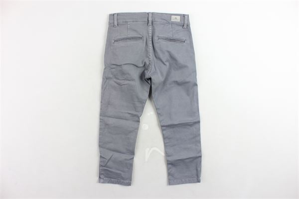 pantalone tinta unita tasca america girovita regolabile PEUTEREY | Pantaloni | PTB0356GRIGIO