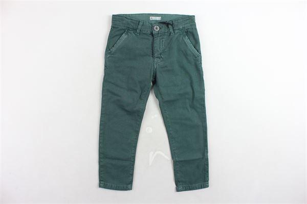 pantalone tasca america tinta unita girovita regolabile PEUTEREY | Pantaloni | PTB0480VERDE
