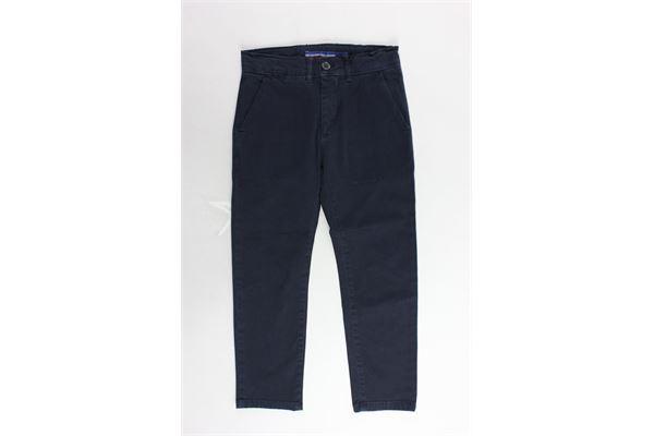 pantalone tasca america tinta unita PEUTEREY | Pantaloni | PTB0864BLU