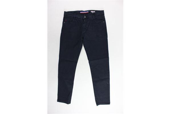 pantalone 5 tasche tinta unita PEUTEREY | Pantaloni | PTB0865BLU