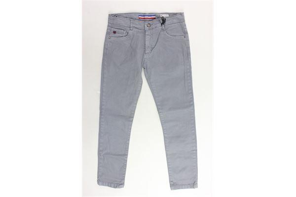 pantalone 5 tasche tinta unita PEUTEREY | Pantaloni | PTB0865GRIGIO