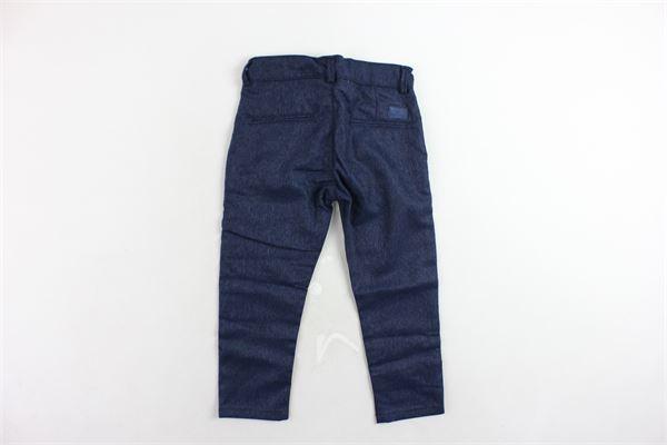 pantalone tasca america microfantasia girovita regolabile PEUTEREY | Pantaloni | PTB0869BLU