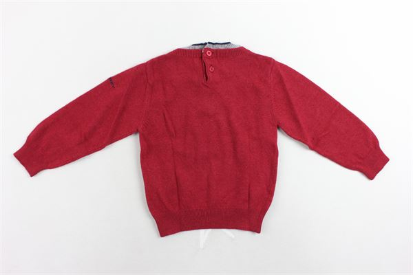 maglione tinta unita manica lunga PEUTEREY   Maglie   PTB0893ROSSO