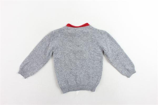 maglione manica lunga tinta unita PEUTEREY | Maglie | PTB0897GRIGIO