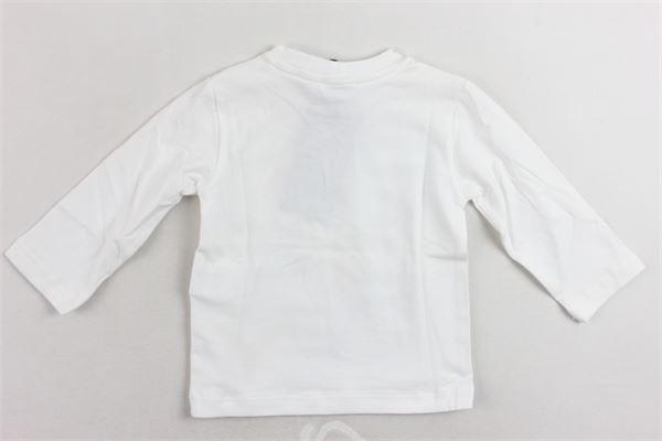 shirt manica lunga cotone caldo con stampa PEUTEREY | Shirts | PTB0934BIANCO
