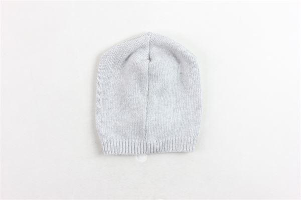 cappello in lana tinta unita con profili in contrasto PEUTEREY | Cappelli | PTB0952GRIGIO