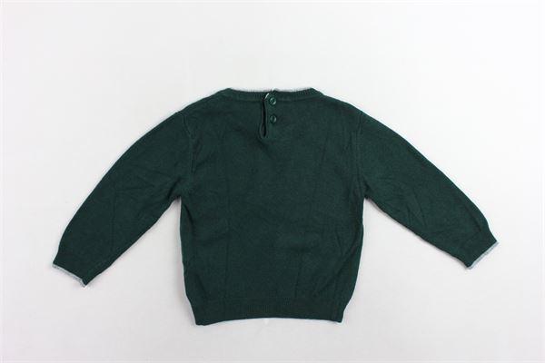 maglione girocollo tinta unita PEUTEREY | Maglie | PTB1317VERDE