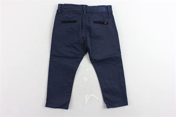 pantalone tasca america tinta unita girovita regolabile PEUTEREY   Pantaloni   PTB1387BLU