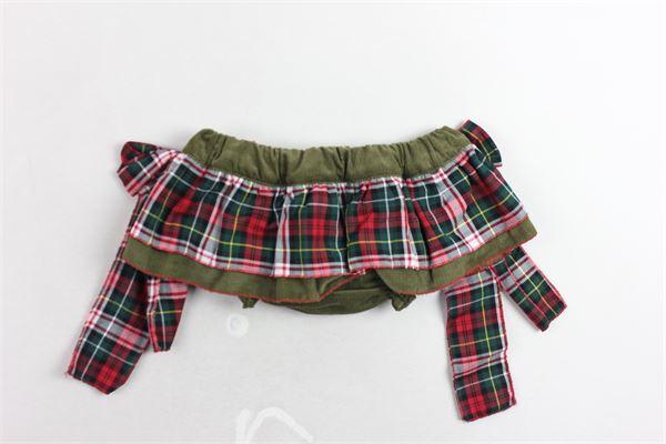 coulotte fantasia scozzese con fiocchi PI CLOTHING | Coulotte | 18633ROSSO