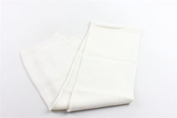 sciarpa in lana tinta unita PICCOLA LUDO | Sciarpe | BS4WA031C000001BIANCO