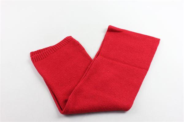 sciarpa in lana tinta unita PICCOLA LUDO | Sciarpe | BS4WA031C000001ROSSO