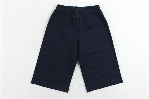 pantalone tinta unita elastico in vita a palazzo PICCOLA LUDO   Pantaloni   BS4WB009TES0358BLU