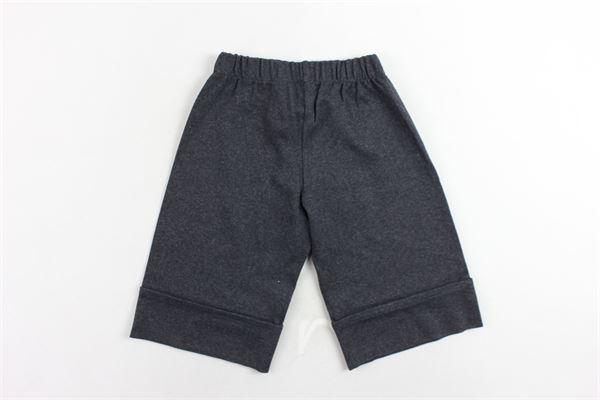 pantalone vita alta a palazzo PICCOLA LUDO   Pantaloni   BS4WB096TES0357GRIGIO