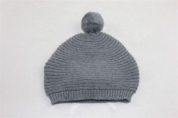 cappello tinta unita in lana con pon pon PILI CARRERA | Cappelli | 82053111GRIGIO