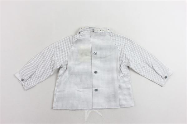 camicia manica lunga microfantasia PILI CARRERA | Camicie | 8225402BIANCO