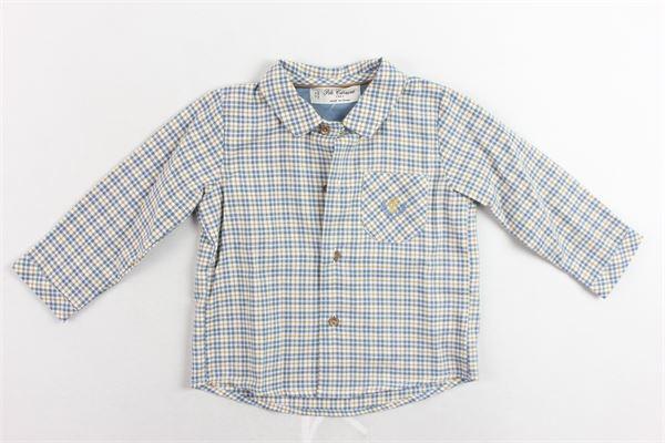 camicie manica lunga fantasia  a quadri con taschino PILI CARRERA | Camicie | 8263000MULTICOLOR