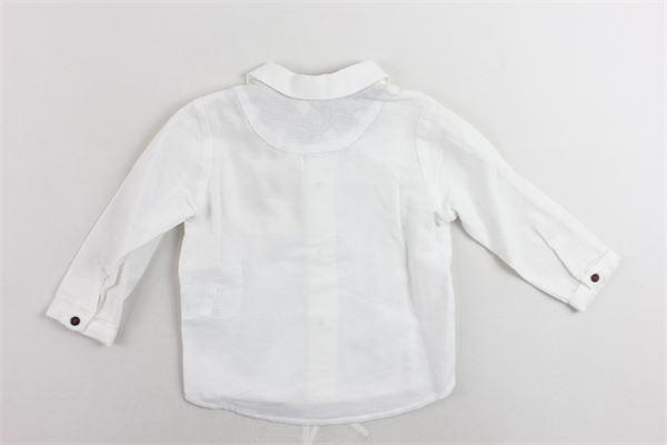 camicie manica lunga tinta unita con taschino PILI CARRERA | Camicie | 8263010BIANCO