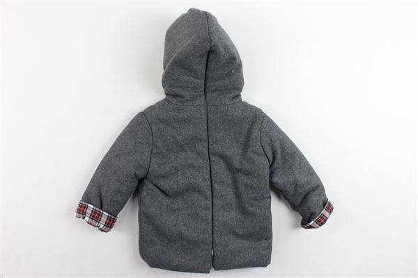 cappotto lungo tinta unita PILI CARRERA | Giubbini | 8265700GRIGIO