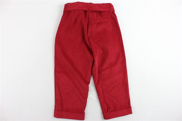 PLEASE | Trousers | PH13060G18ROSSO